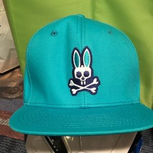 Psycho Bunny Teal Hat
